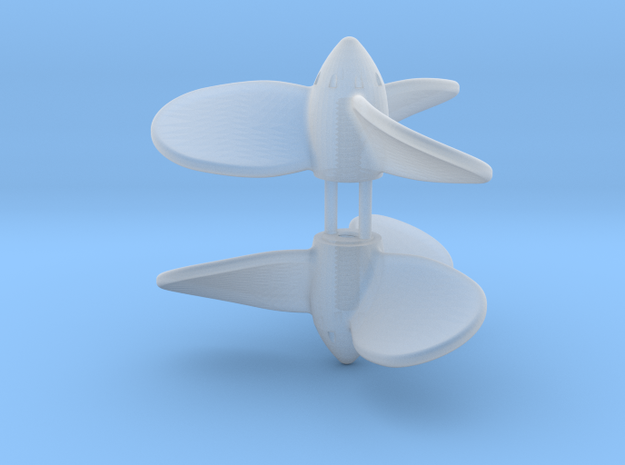 Propeller 1/96 (River) in Frosted Ultra Detail