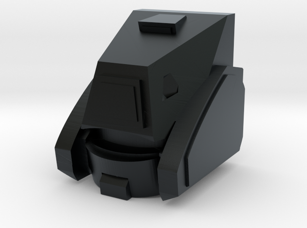 Tubes Head in Black Hi-Def Acrylate