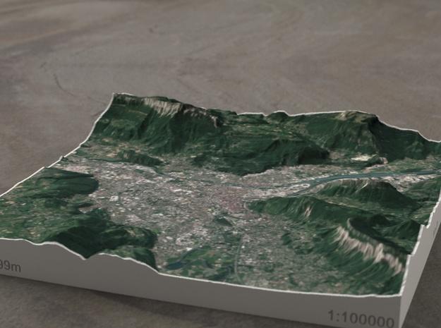 Grenoble, France, 1:100000