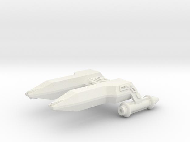 3788 Scale Lyran Cheetah Frigate (FF) CVN in White Strong & Flexible