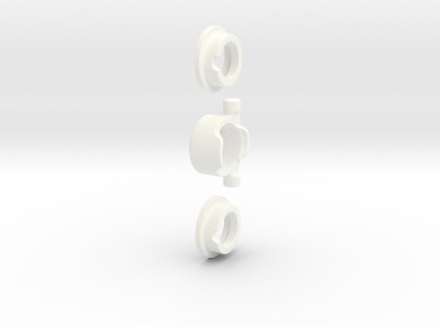 E/T-MAXX 1/8 Hybrid DIFF KIT (Front) - RPM in White Processed Versatile Plastic