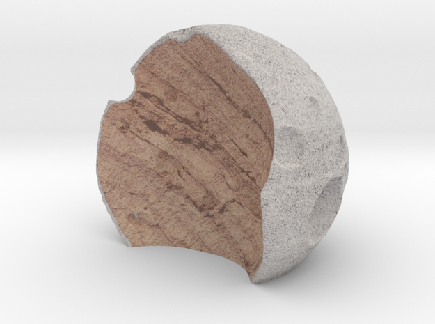 Half Moon_SC001 in Full Color Sandstone