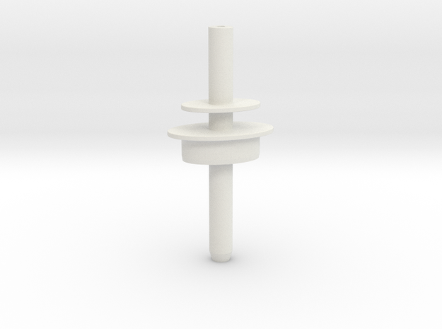 Pyramidenkogel Tower (part 3 of 4) in White Natural Versatile Plastic