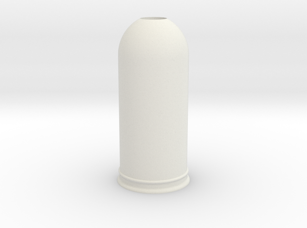 1-35 Trash Can #2 Round Single MSP35-037a in White Strong & Flexible