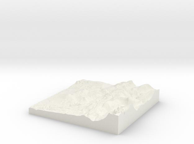 Oldham W390 S400 E400 N410  in White Natural Versatile Plastic