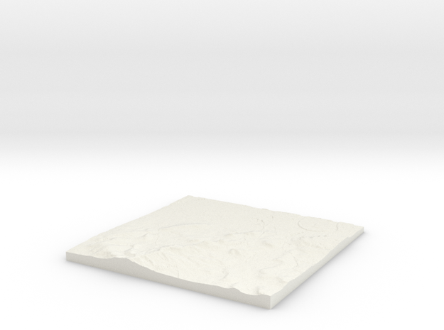 Peckham W530 S170 E540 N180 Nunhead in White Strong & Flexible