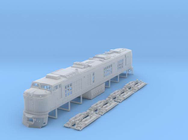 N Scale Propane Turbine locomotive