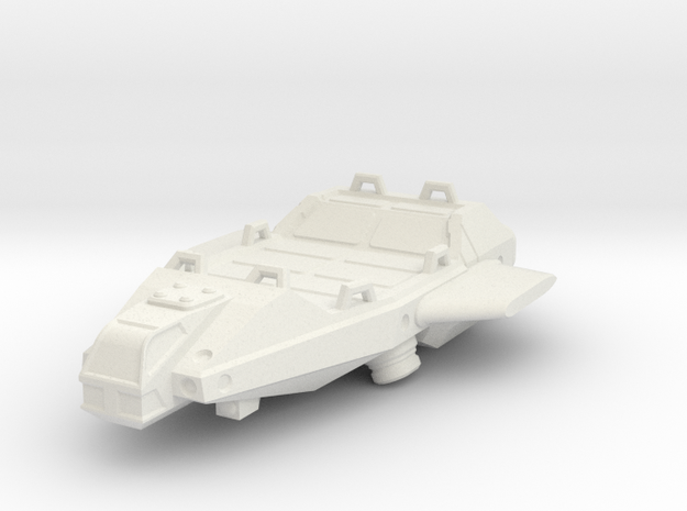Heavy Lifter, flying in White Natural Versatile Plastic
