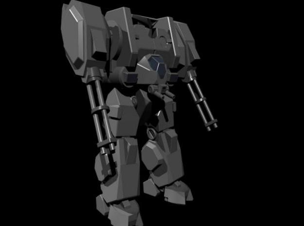 Mecha- Hunter (1/285th) 3d printed Render