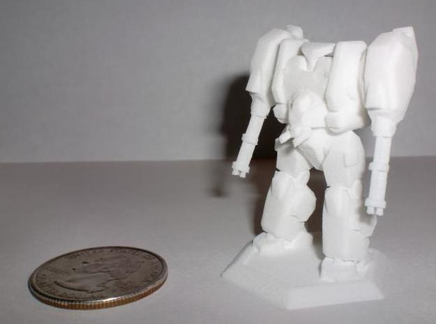 Mecha- Hunter (1/285th) 3d printed WSF Printout