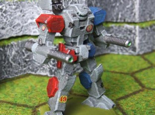Mecha- Axe (1/285th) 3d printed Painted WSF