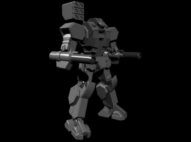 Mecha- Axe (1/160th) 3d printed Render