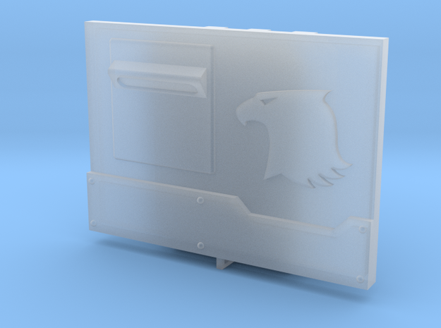 Eagle Metal Box set #1 in Smooth Fine Detail Plastic