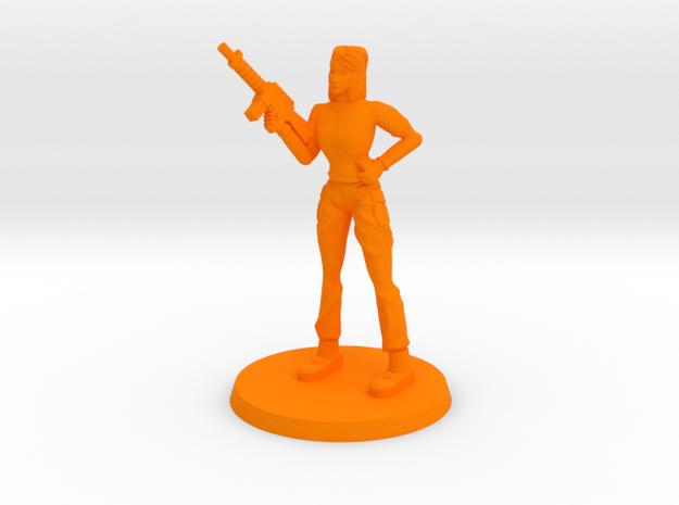 Elle Monster Hunter in Orange Processed Versatile Plastic