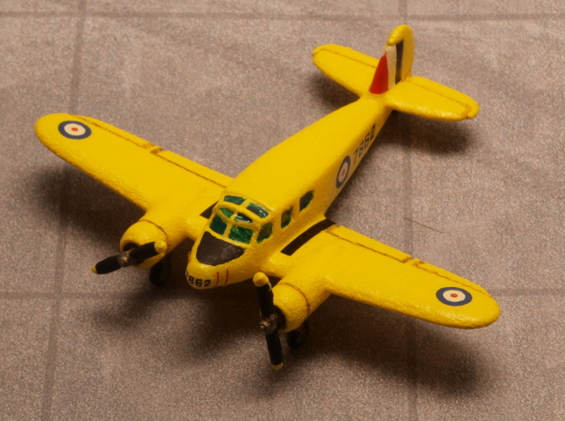 Cessna T-50 Bobcat 1/200 in White Natural Versatile Plastic