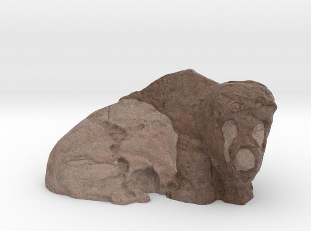 Bison_TC004 in Full Color Sandstone
