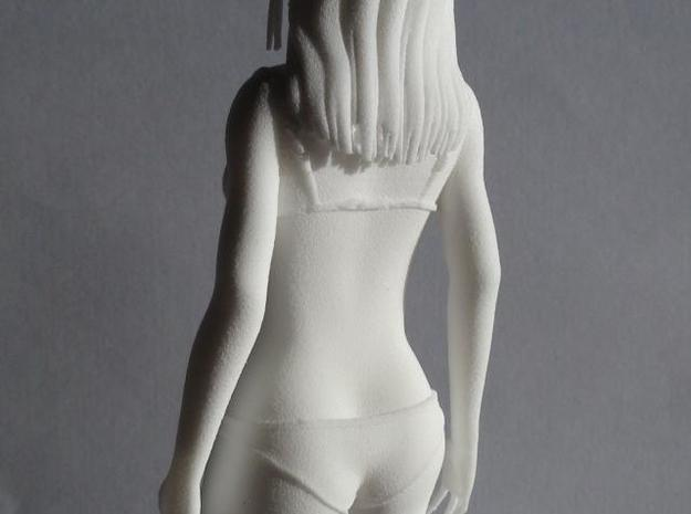 "Figurine ""Hana"" (17cm)  3d printed Picture Back Close-up"