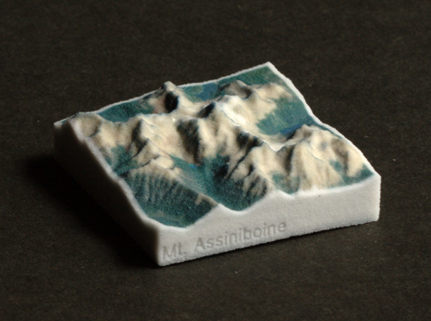 Mt. Assiniboine, Alberta/BC, 1:250000 Explorer in Full Color Sandstone