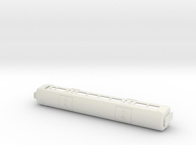 Electrostar 377/7, 379 & 387 00 Gauge Bodyshell in White Natural Versatile Plastic