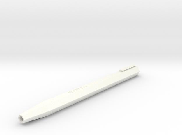 PEN BASE v0.1(beta) in White Strong & Flexible Polished