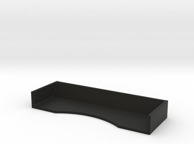 Mini-Z Universal Race Spoiler (Heavy Duty) in Black Natural Versatile Plastic
