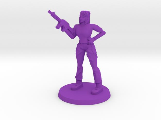 Elle Monster Hunter 2.0 in Purple Processed Versatile Plastic