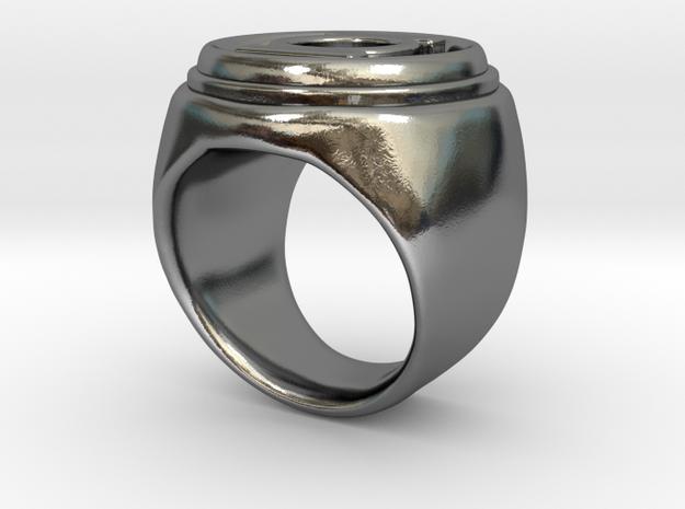 Green Lantern ring v3 - size 7-5