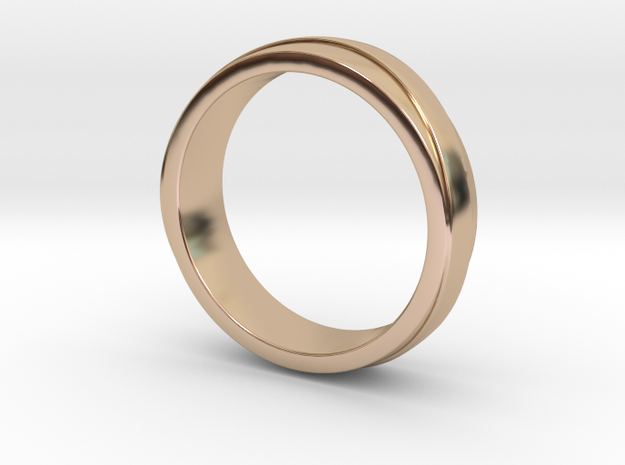 Ring of Dreams in 14k Rose Gold Plated: Small