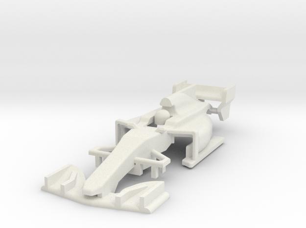 HO Formula 1 2017 Body in White Strong & Flexible