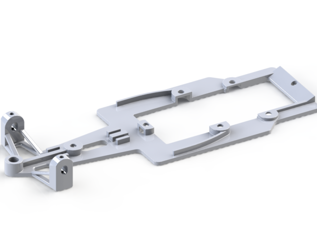 F1 chassis in White Strong & Flexible