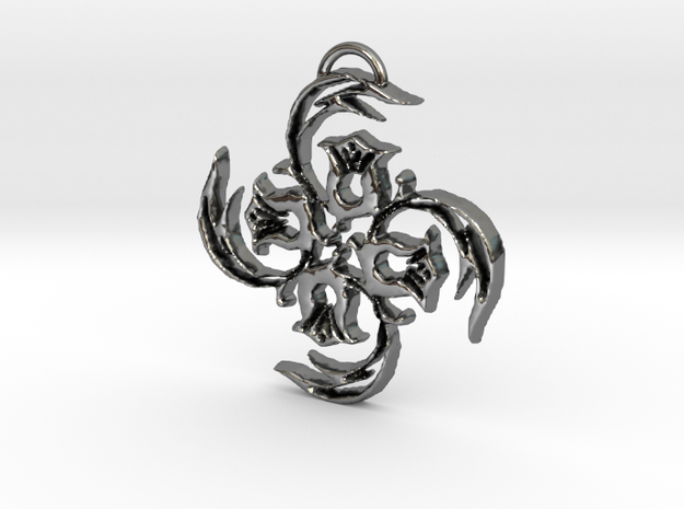 Art-212 in Fine Detail Polished Silver