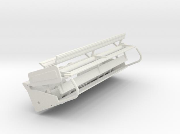 F 15 RIGID  in White Natural Versatile Plastic