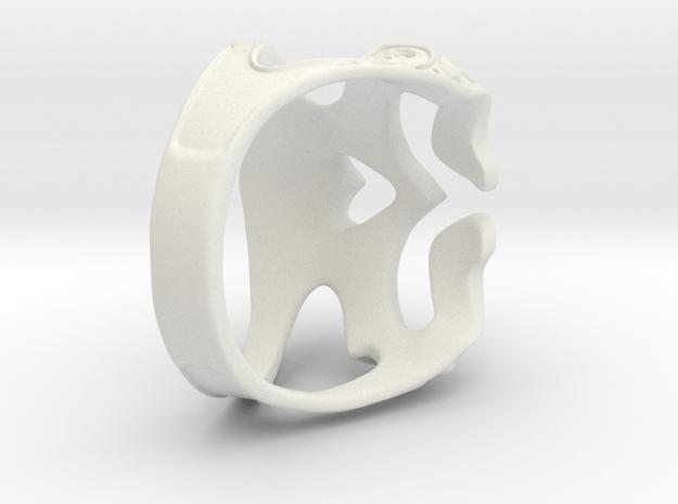 skull ring in White Strong & Flexible: 7 / 54