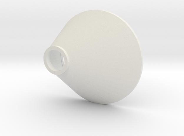 L 60 A  Betonschacht Konus asymetrisch in White Natural Versatile Plastic