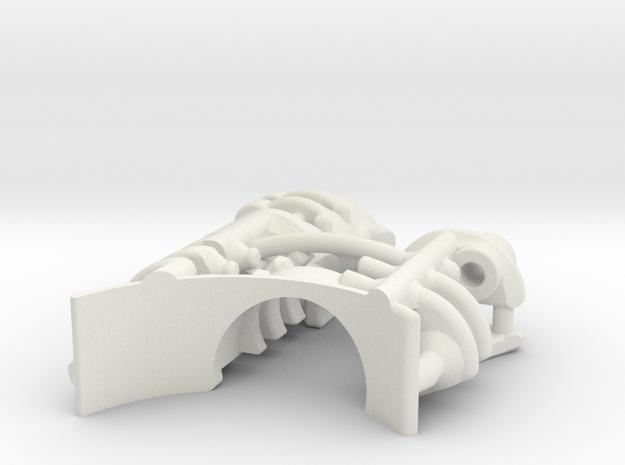 KR Ahsoka Shien - Part2 CC Insert in White Natural Versatile Plastic