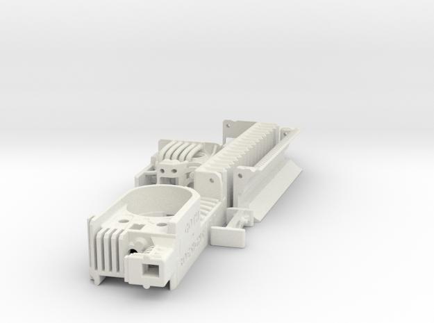 KR Ahsoka Shien - Part1 Main Chassis in White Natural Versatile Plastic