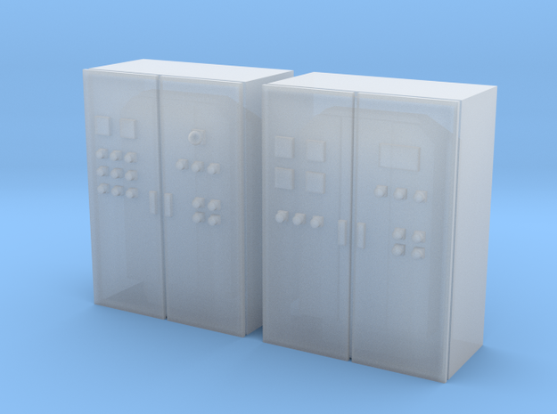 N Scale 2 Control Cabinets