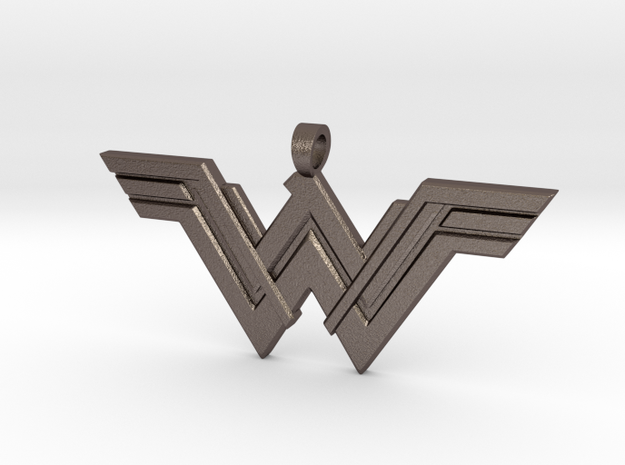 Wonder Woman Pendant in Stainless Steel