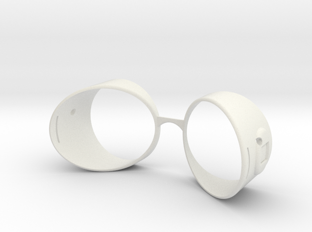 Spider-Man Homecoming Goggles in White Natural Versatile Plastic