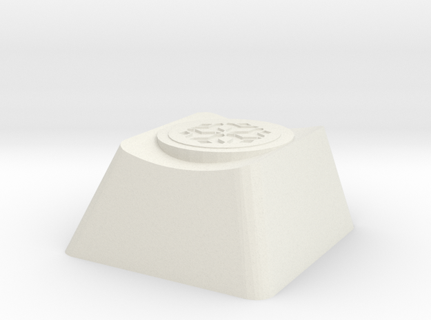 Overwatch Mei Blizzard Cherry MX Keycap in White Natural Versatile Plastic