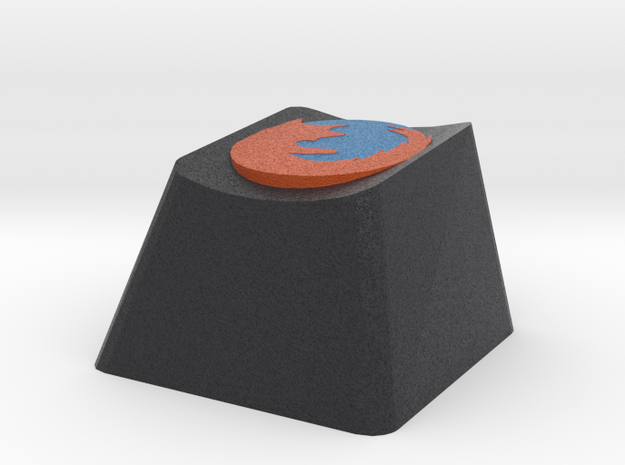 Mozilla Firefox Cherry MX Keycap in Full Color Sandstone