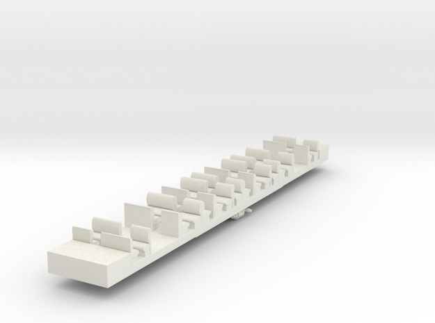 HC3 - VR Harris NHT3 Dummy Chassis in White Natural Versatile Plastic