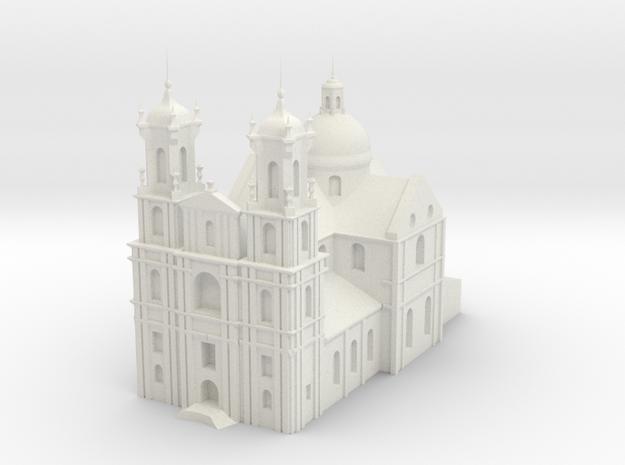 Farny Church_stl in White Natural Versatile Plastic