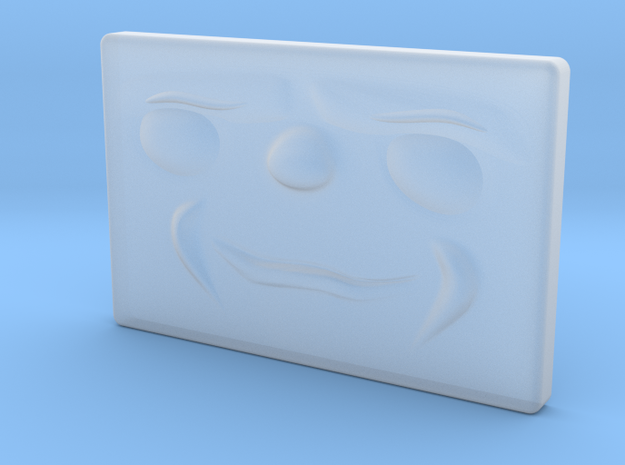 Small Smug Face in Frosted Extreme Detail