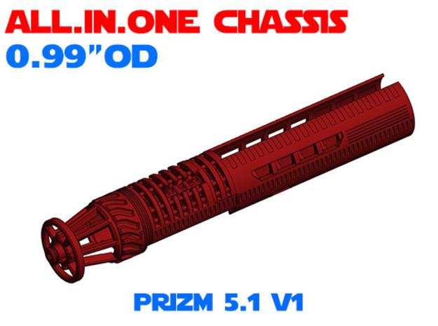"""ALL.IN.ONE - 0.99""""OD - PRIZM 5.1 V1 in White Natural Versatile Plastic"""