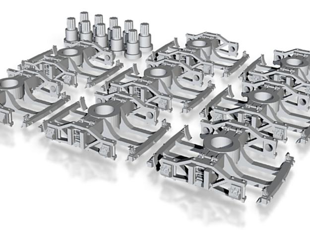 T82rp x8 N robust Allen/California tucks, V&T, pin 3d printed
