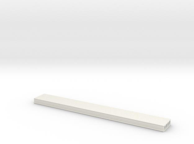 L 32 50 Deckenplatte in White Natural Versatile Plastic
