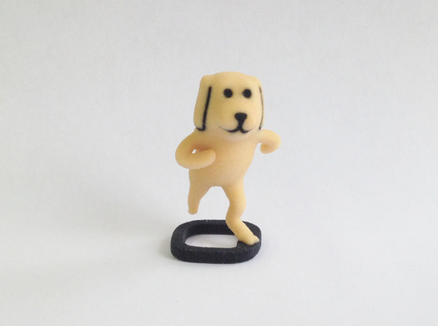 Hetero Dog in Full Color Sandstone