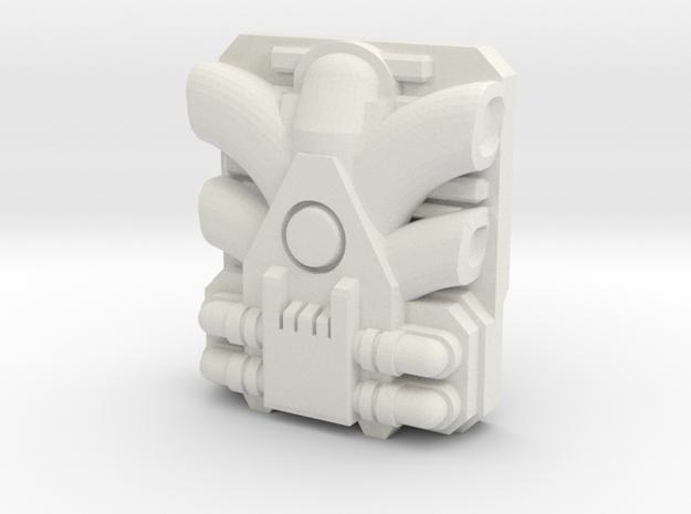 Giga PowerMaster Engine (Titans Return) in White Strong & Flexible
