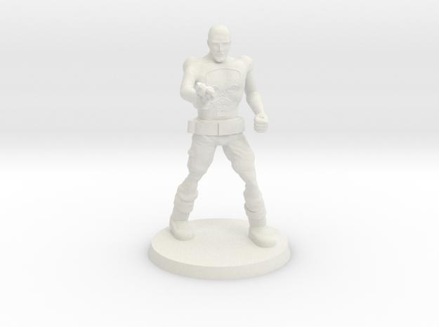 Deathboy Raider 1 in White Natural Versatile Plastic
